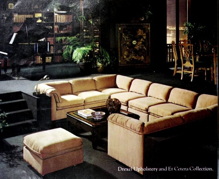 Vintage sectional sofas from the 1970s (3)