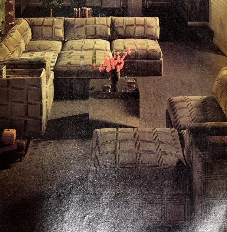 Vintage sectional sofas from the 1970s (4)