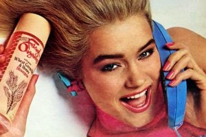 Vintage shampoos and conditioners from the 80s