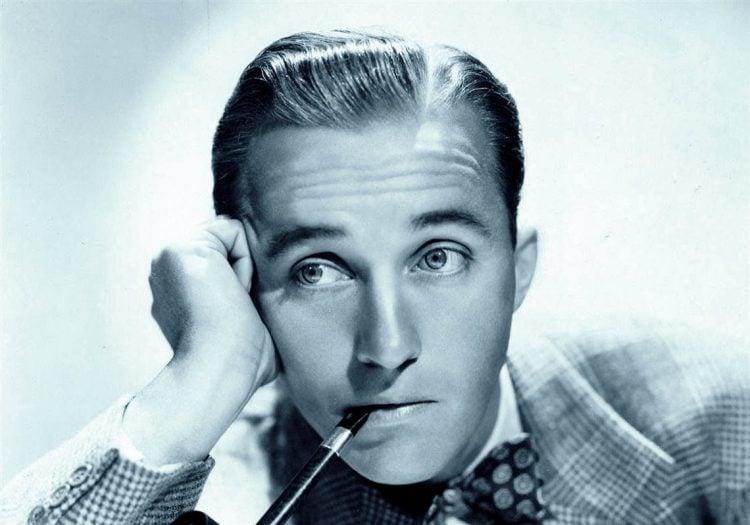 Vintage singer and actor Bing Crosby