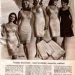 Vintage slips and petticoats from the sixties