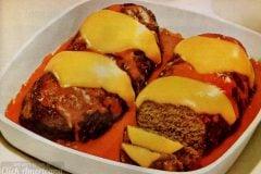 Vintage stove top meatloaf recipe (1965)