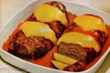 Vintage stove top meatloaf recipe (1965)
