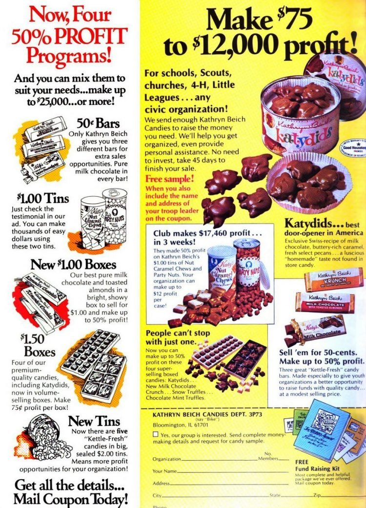 Vintage stuff kids could sell for fundraising from 1976 (8)