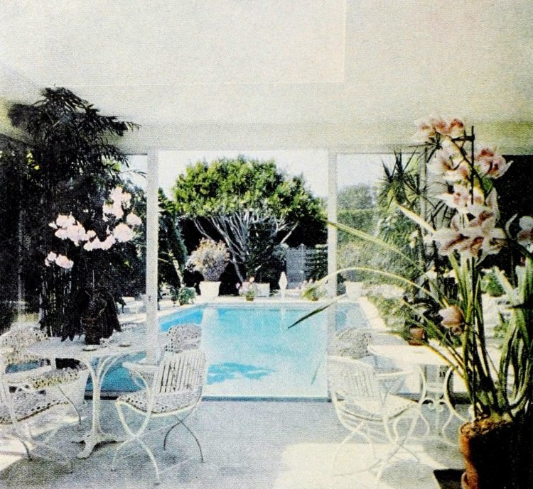 Vintage swimming pool from 1969 (2)
