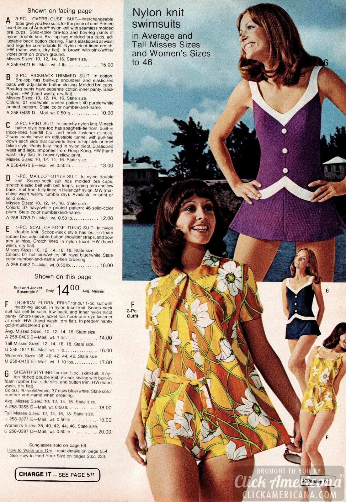 Vintage swimwear for women from 1973 (4)