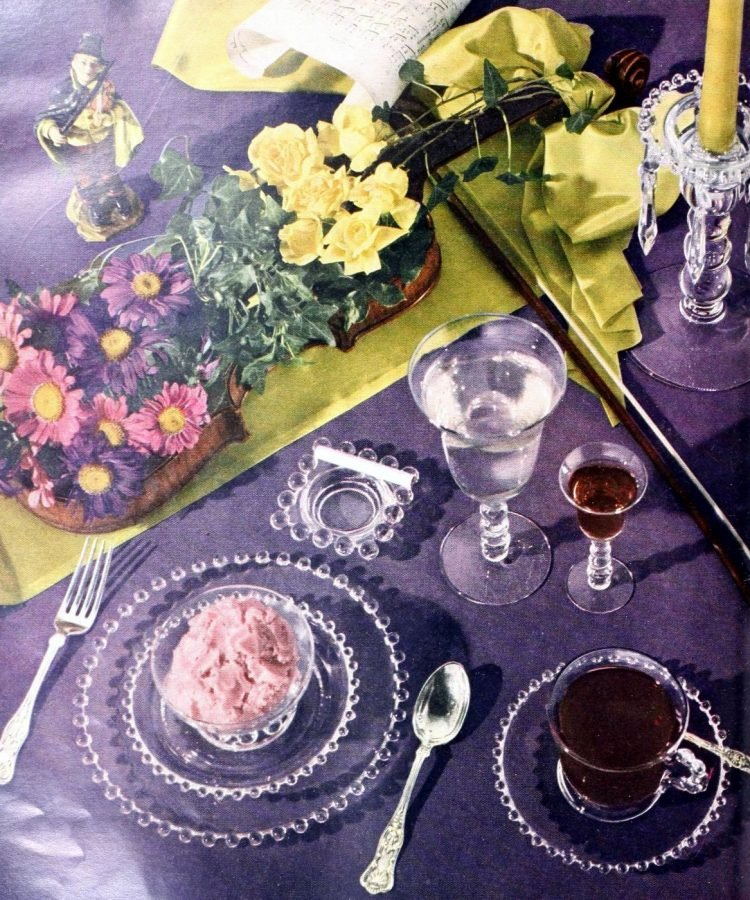Vintage table setting ideas from the 50s (6)