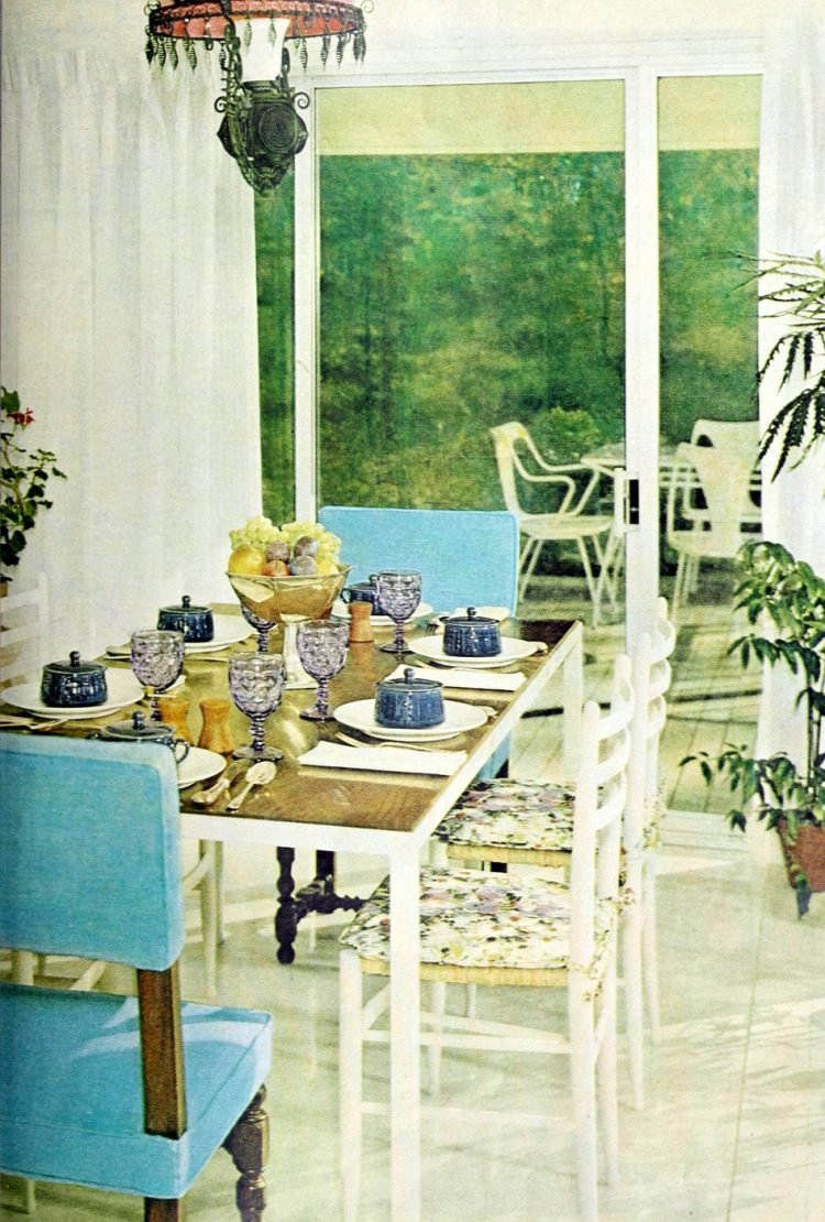 Vintage table setting ideas from the 50s (7)