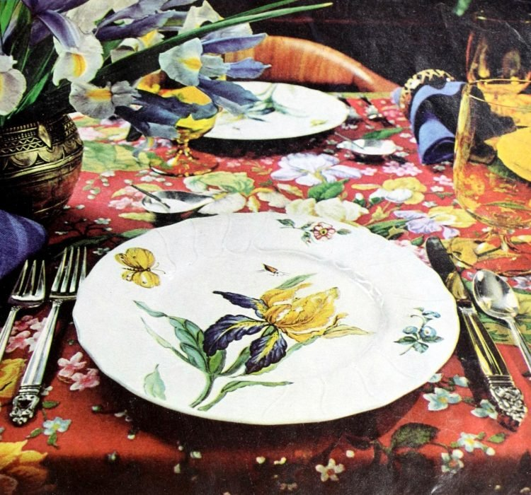 Vintage table setting ideas from the 70s - 1975 (1)