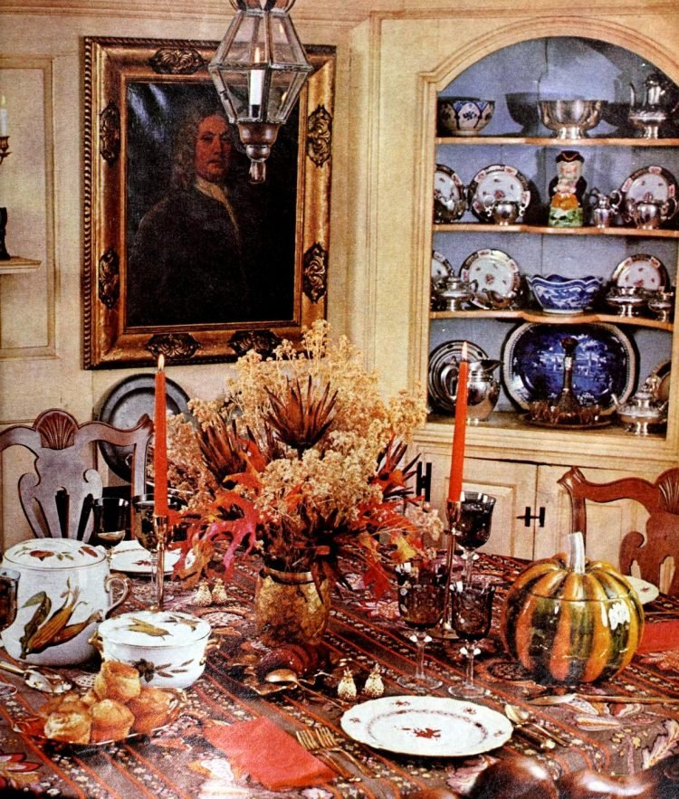 Vintage table setting ideas from the 70s - 1975 (11)