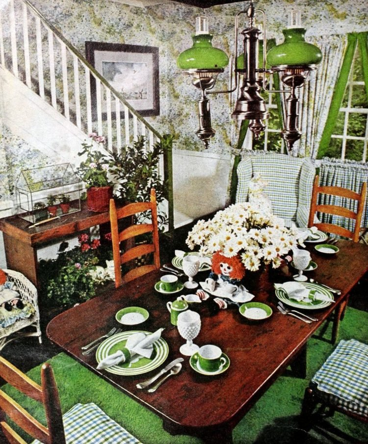 Vintage table setting ideas from the 70s - 1975 (13)