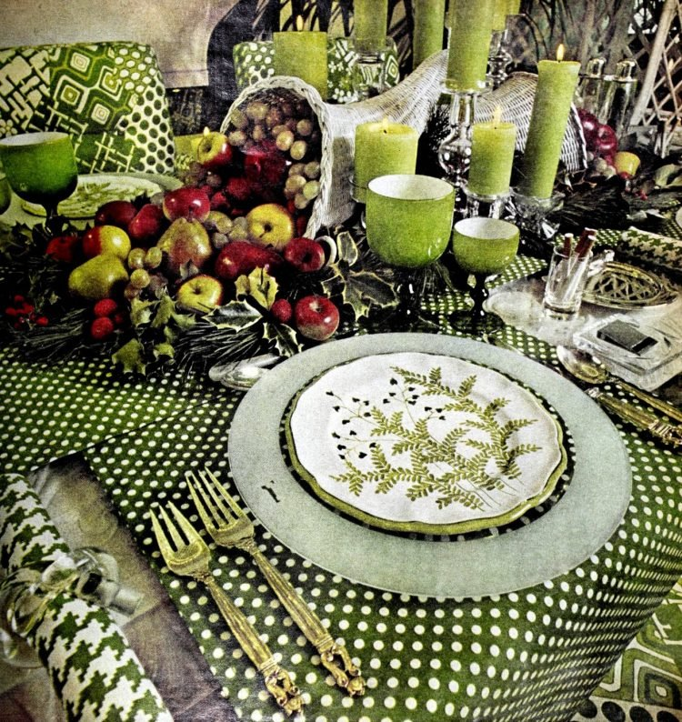 Vintage table setting ideas from the 70s - 1975 (16)
