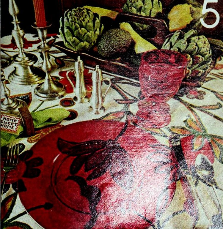 Vintage table setting ideas from the 70s - 1975 (18)