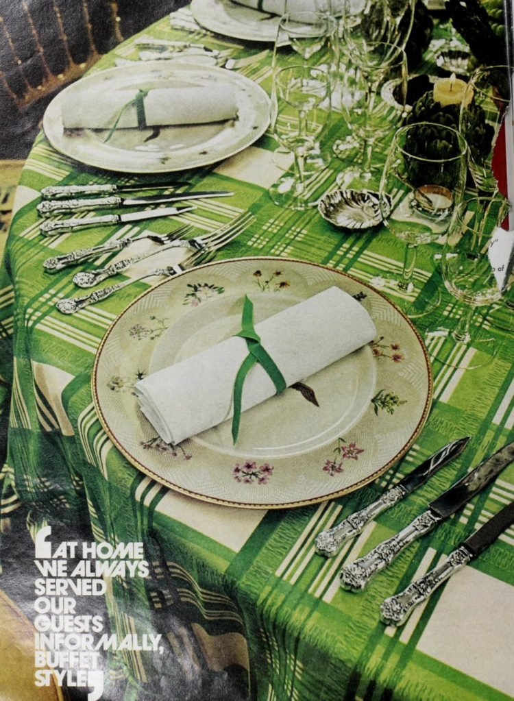 Vintage table setting ideas from the 70s - 1975 (19)