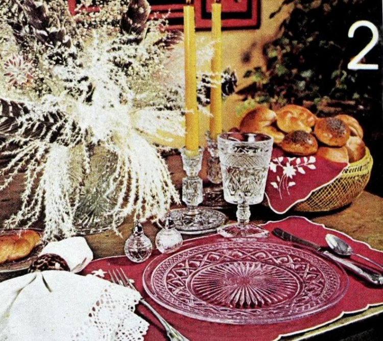 Vintage table setting ideas from the 70s - 1975 (21)