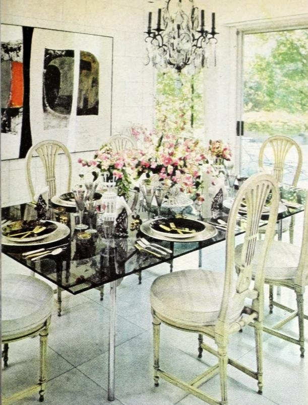 Vintage table setting ideas from the 70s - 1975 (4)