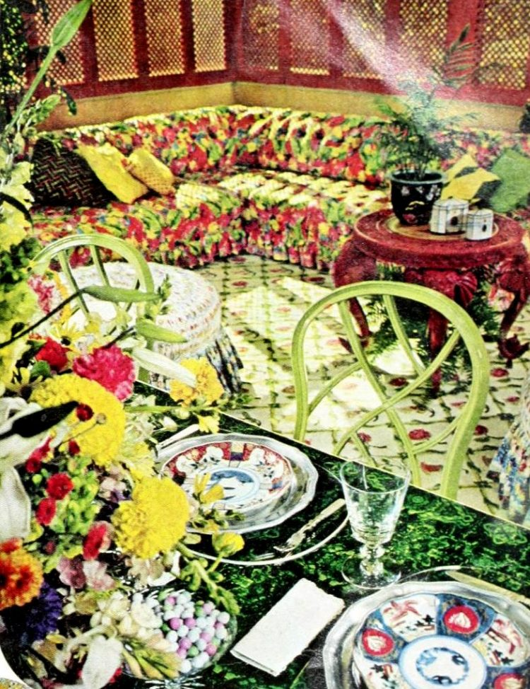 Vintage table setting ideas from the 70s - 1975 (5)