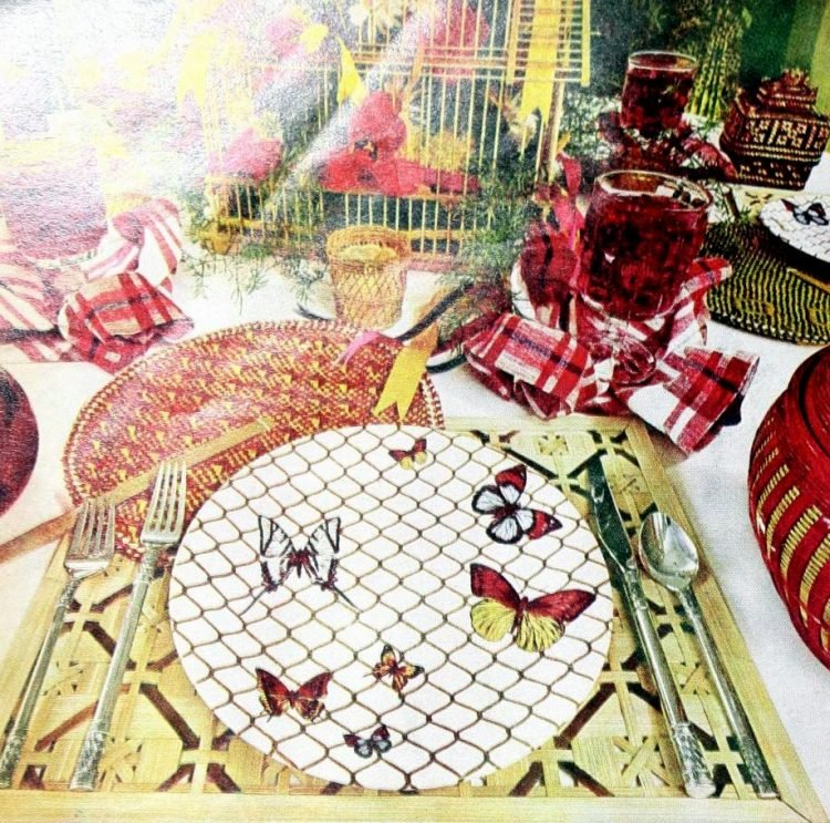 Vintage table setting ideas from the 70s - 1975 (6)