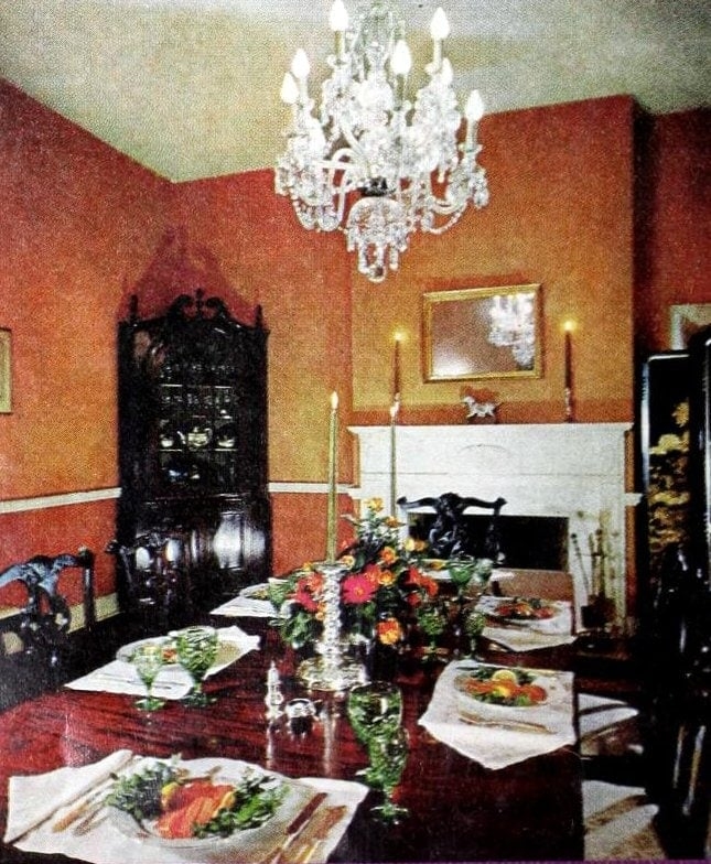 Vintage table settings from 1970 (3)