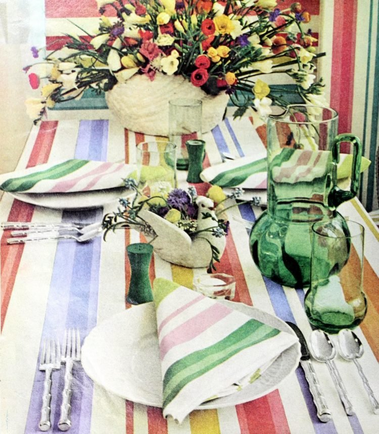 Vintage table settings from 1974 (11)