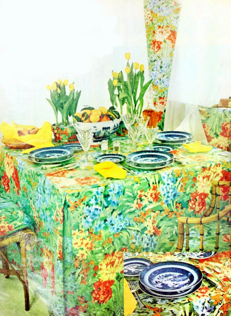 Vintage table settings from 1974 (12)