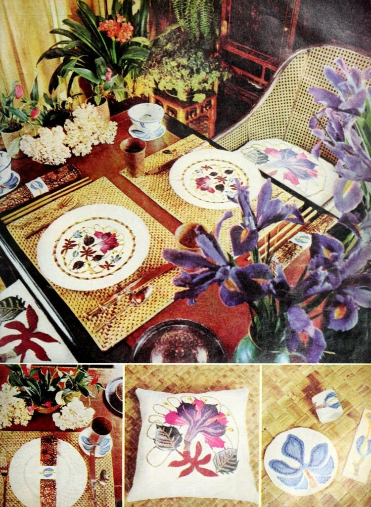 Vintage table settings from 1974 (15)
