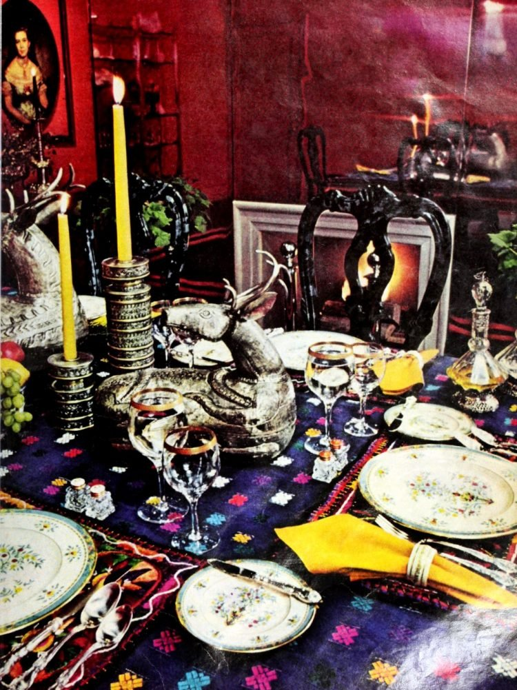 Vintage table settings from 1974 (19)