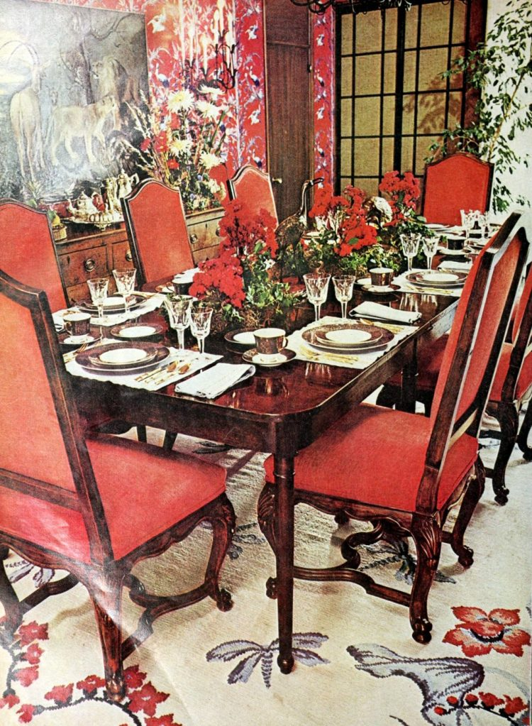 Vintage tablesettings from 1976 (1)