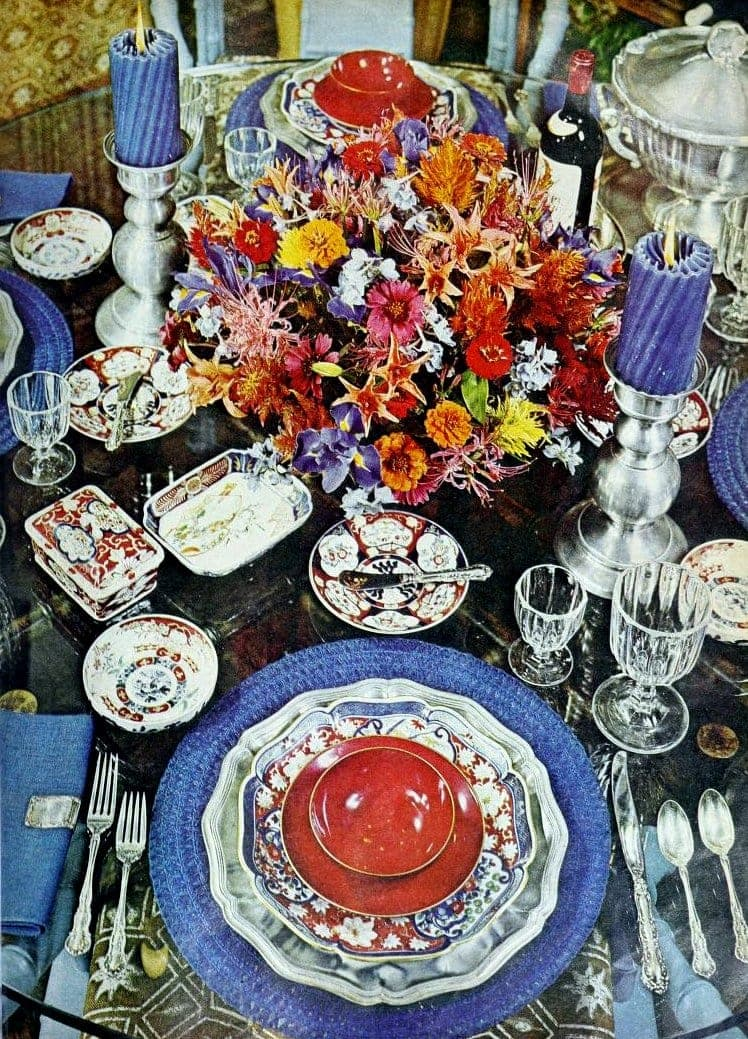 Vintage tablesettings from 1976 (10)