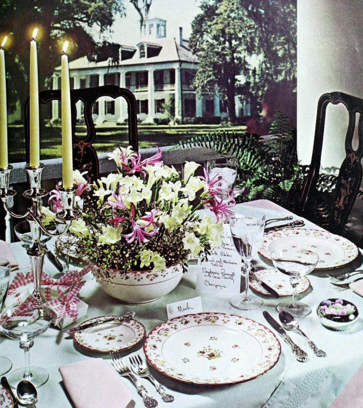 Vintage tablesettings from 1976 (3)