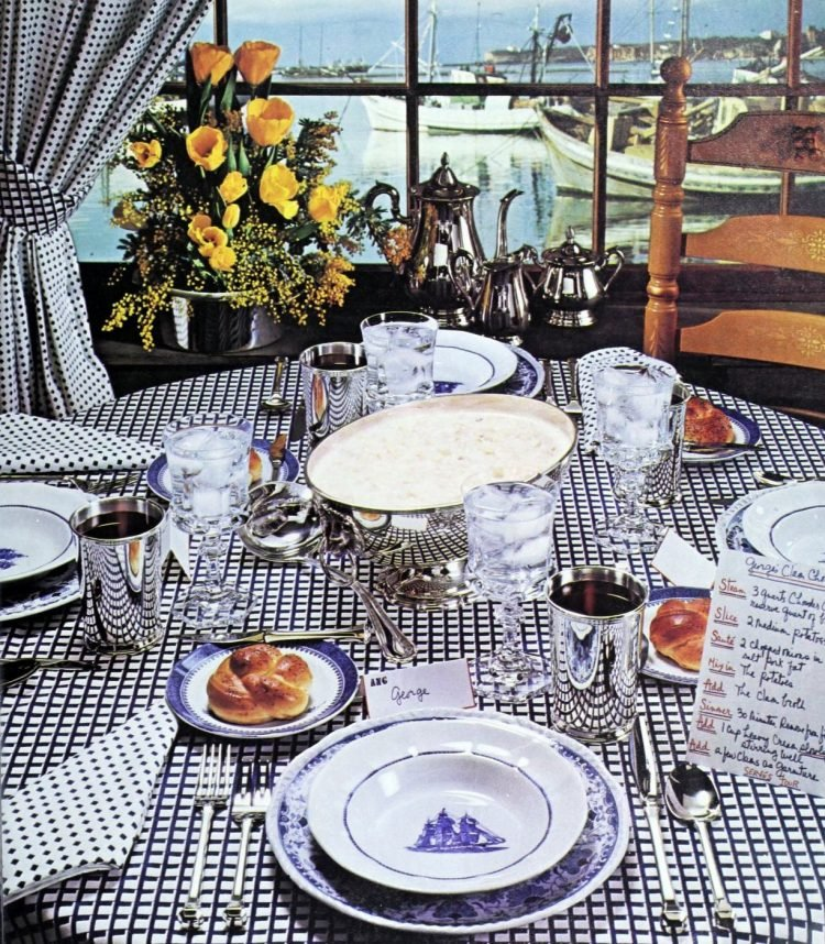 Vintage tablesettings from 1976 (4)