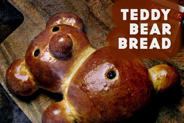 Vintage teddy bear bread recipe
