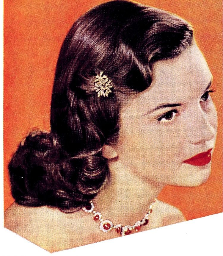 Vintage teen beauty from the 1950s