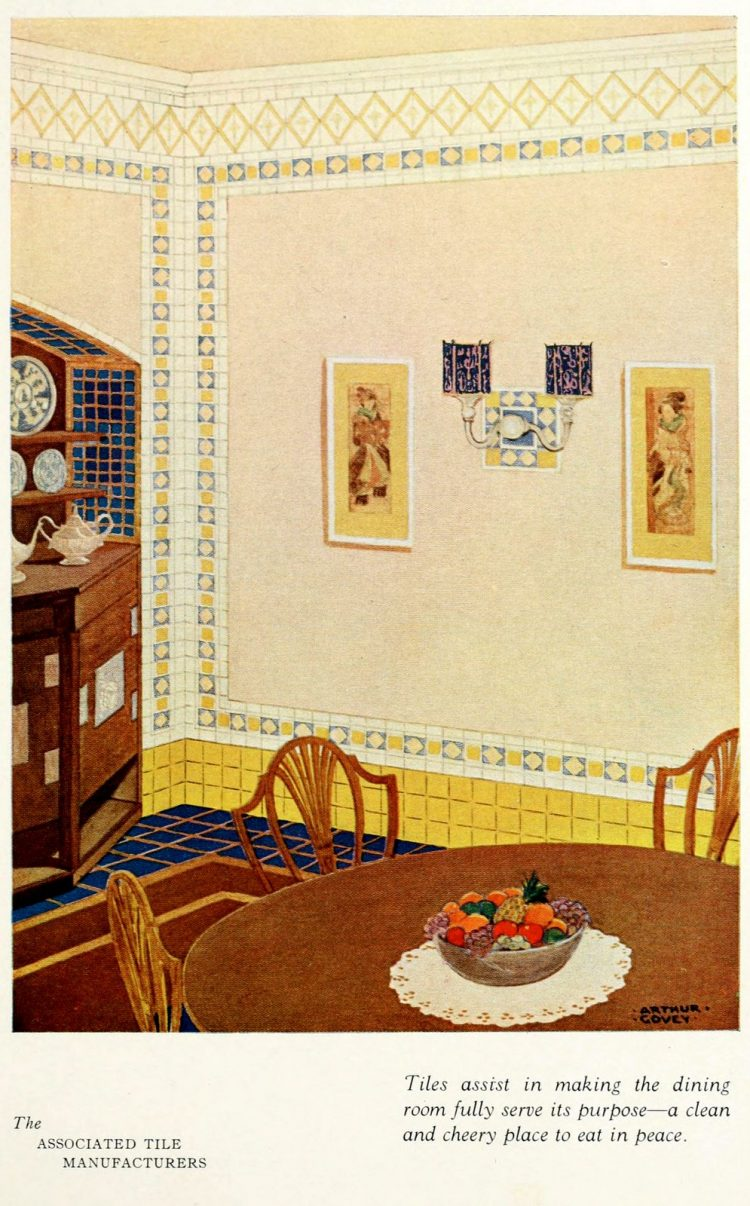 Vintage tile ideas for home decor from the '20s (4)