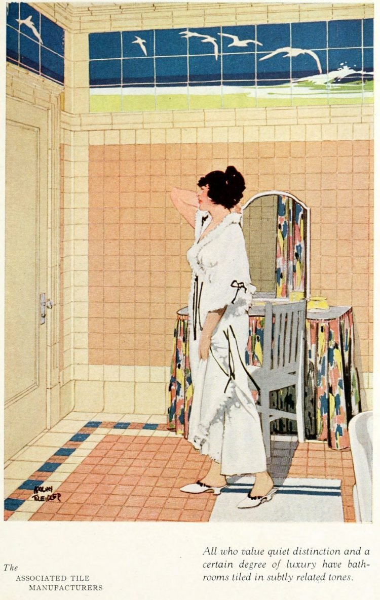 Vintage tile ideas for home decor from the '20s (7)