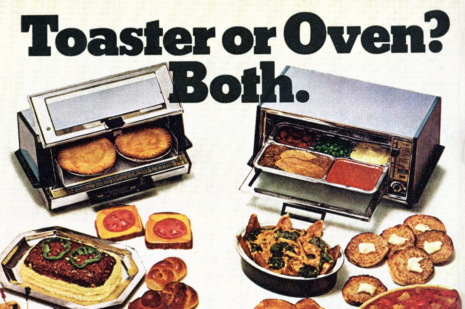 Vintage toaster ovens The exciting new kitchen appliances that debuted in the 1950s