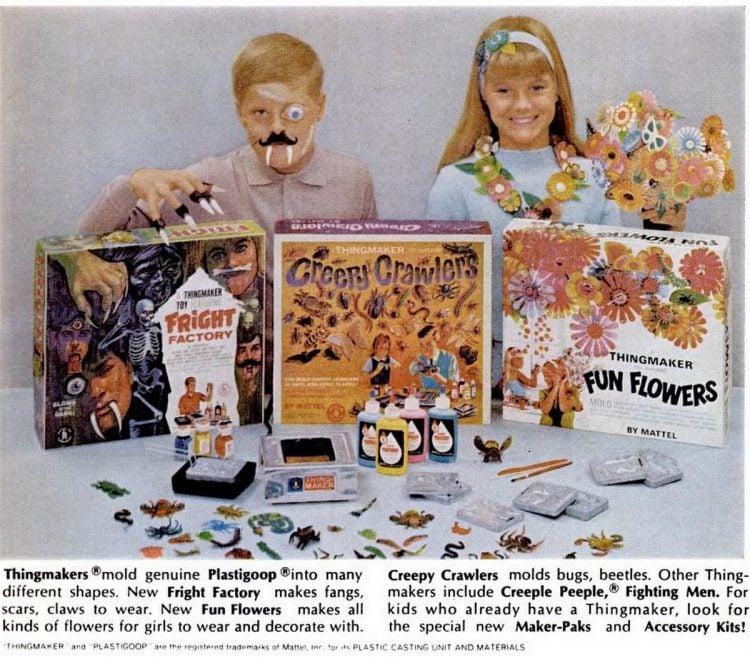 Vintage toys from November 1967 - Mattel (1)