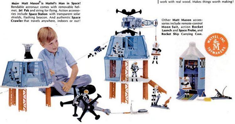 Vintage toys from November 1967 - Mattel (3)