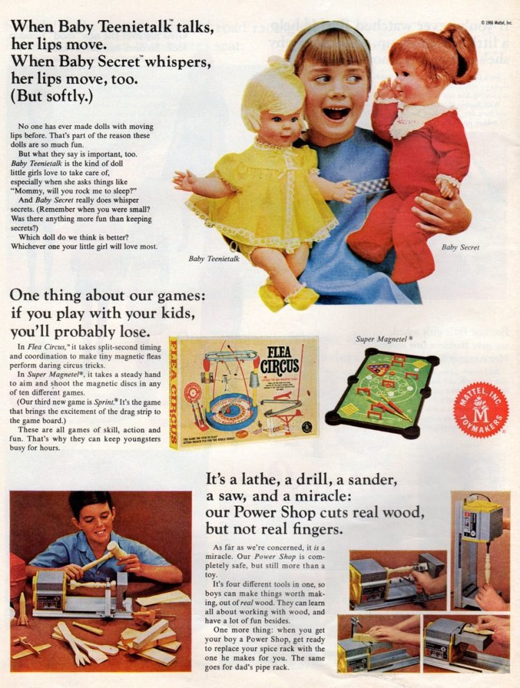 Vintage toys from the 1960s - Mattel Christmas gifts (4)