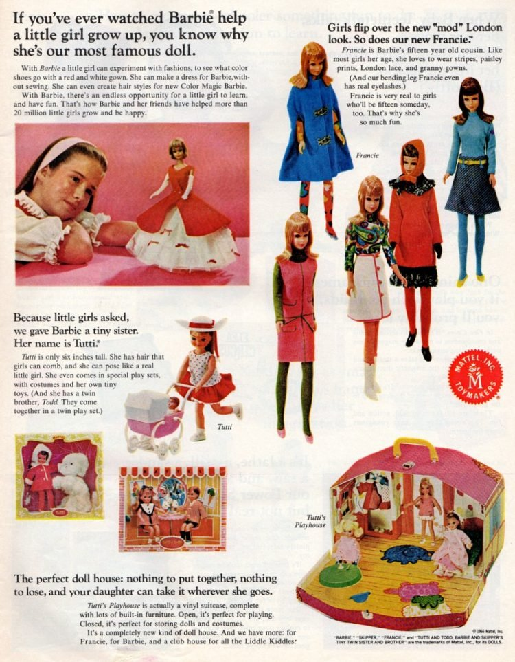 Vintage toys from the 1960s - Mattel Christmas gifts (5)