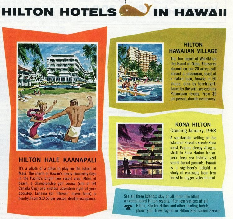 Vintage vacation travel to Hawaii in the sixties (2)