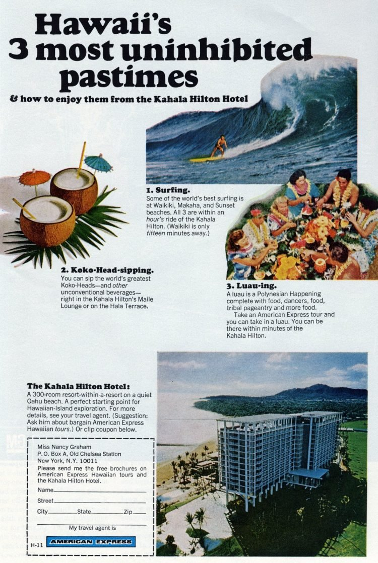 Vintage vacation travel to Hawaii in the sixties (3)