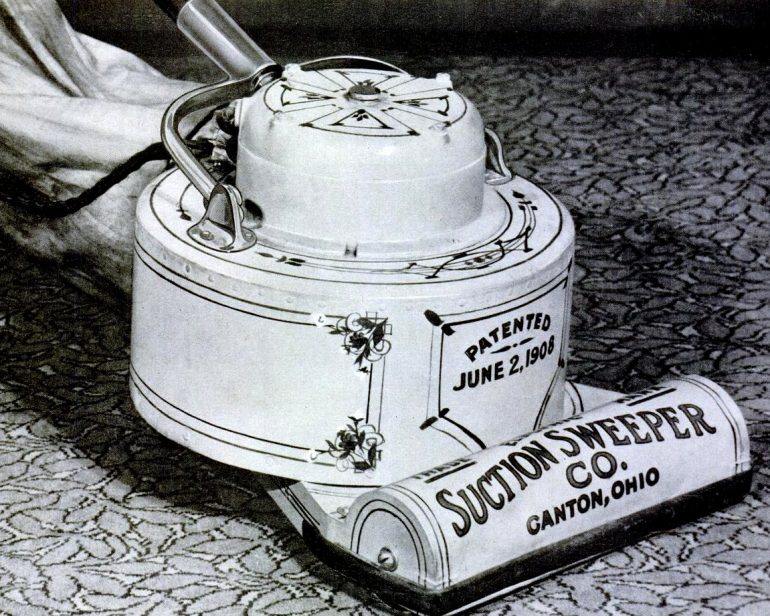 Vintage vacuum from 1908