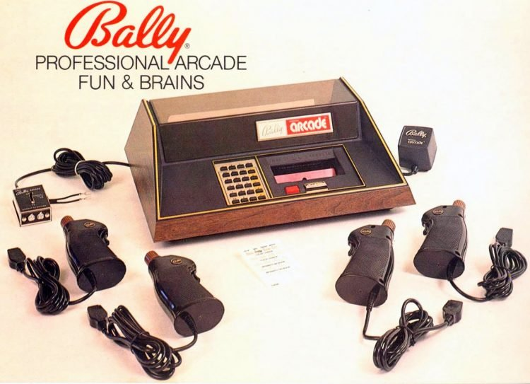 Vintage video consoles - Bally Professional Arcade Fun and Brains 1978