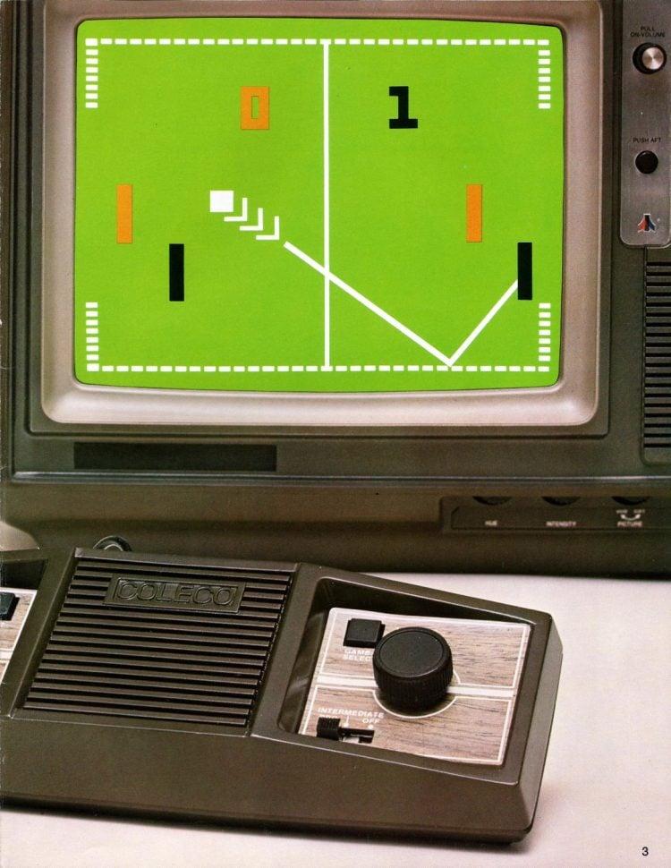 Vintage video consoles - Coleco 1978