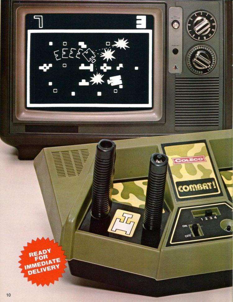 Vintage video consoles - Coleco Combat 1978
