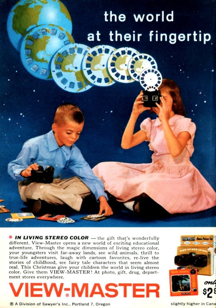 Vintage viewmasters - 1950s or 1960s