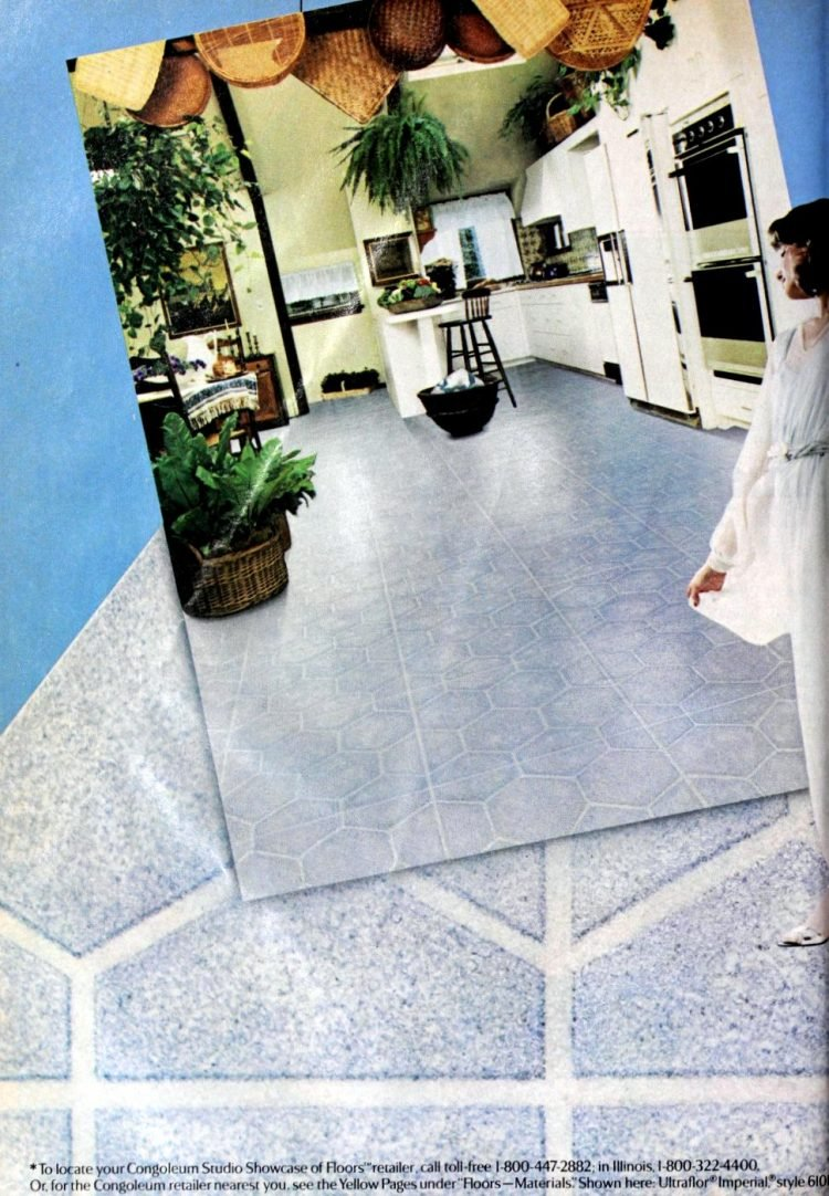 Vintage vinyl floors from the eighties - From ClickAmericana com (1)
