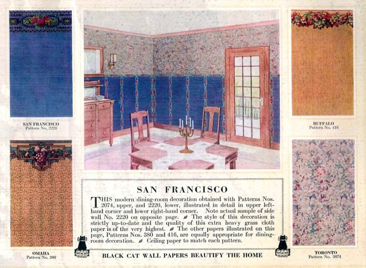 Vintage wall decor for home 1917 (1)