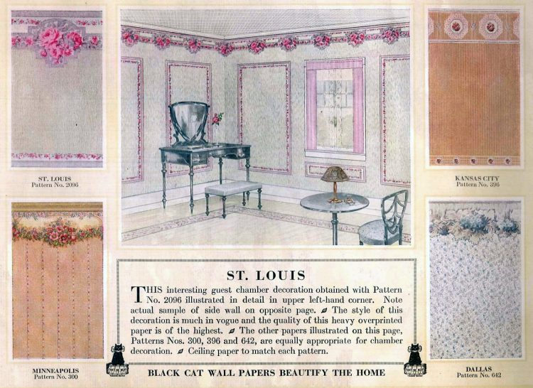Vintage wall decor for home 1917 (2)